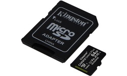 Kingston Canvas Select Plus MicroSDXC UHS-I 64GB + Adapter 3-pack