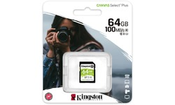 Kingston Canvas Select Plus SDXC UHS-I 64GB