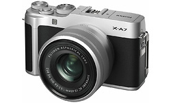Fujifilm X-A7 15-45 kit Silver