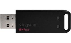 Kingston DataTraveler 20 64GB Black 3-pack