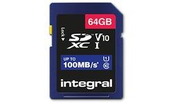 Integral SDXC UHS-I 64GB