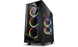 Sharkoon REV200 RGB Window Black