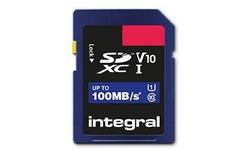 Integral High Speed SDHC UHS-I V10 16GB
