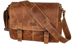 Dörr Kapstadt Leather Photobag Medium Cognac
