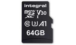 Integral UltimaPro MicroSDXC UHS-I U3 V30 64GB + Adapter