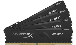 Kingston HyperX Fury Black 128GB DDR4-2400 CL15 quad kit