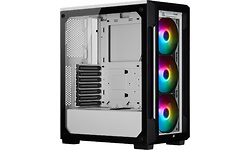 Corsair iCue 220T RGB Window White (Front Glass Edition)