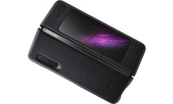 Samsung Galaxy Fold Cover Leather Cover Black