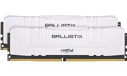 Crucial Ballistix White 16GB DDR4-3000 CL15 Kit