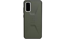 UAG Civilian Series Samsung Galaxy S20 Cover Olive Drab