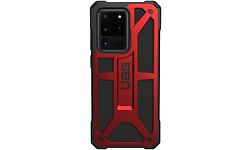 UAG Monarch Samsung Galaxy S20 Ultra Cover Crimson