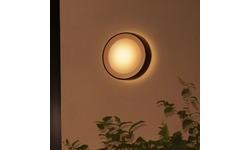 Philips Hue Daylo Wall Light Hue Outdoor Black