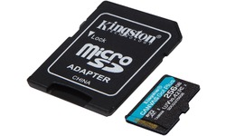 Kingston Canvas Go! Plus MicroSDXC UHS-I U3 256GB + Adapter