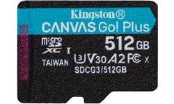 Kingston Canvas Go! Plus MicroSDXC UHS-I U3 512GB