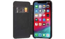 Decoded Leather Slim Wallet Apple iPhone X/Xs Book Case Black