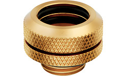 Corsair Hydro X Series XF Hardline 14mm OD Fitting Four Pack Gold