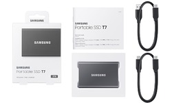 Samsung T7 2TB Titan Grey