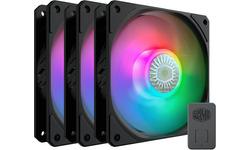 Cooler Master MasterFan MF120 SickelFlow aRGB Black 3-pack