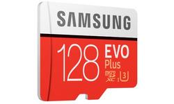 Samsung Evo Plus MicroSDXC UHS-I 128GB + Adapter