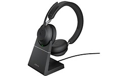 Jabra Evolve2 65 UC USB-A Black + Stand
