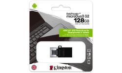 Kingston DataTraveler MicroDuo3 G2 128GB Black