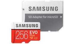 Samsung Evo Plus 2020 MicroSDXC UHS-I 256GB + Adapter