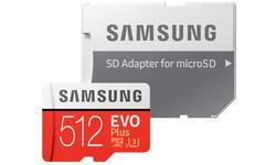 Samsung Evo Plus 2020 MicroSDXC UHS-I 512GB + Adapter