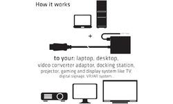 Club 3D DisplayPort 1.4 naar HDMI 2.1 (4K 120Hz) adapter