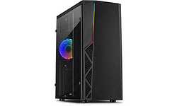 Inter-Tech B-02 RGB Window Black