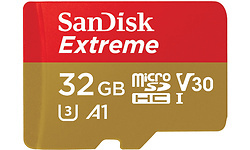 Sandisk Extreme MicroSDHC UHS-I 32GB