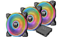 Thermaltake Riing Quad 14 RGB TT Premium 3-pack Black