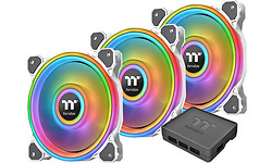 Thermaltake Riing Quad 12 RGB TT Premium 3-pack White