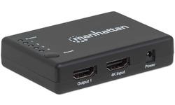 Manhattan 4-Port HDMI-Splitter 4K@30Hz