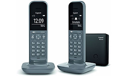 Gigaset CL390A Duo Dect Grey