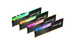 G.Skill Trident Z RGB Black 32GB DDR4-4000 CL15 quad kit