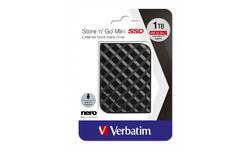 Verbatim Store 'n' Go Mini SSD 1TB Black
