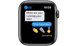 Apple Watch Nike SE 44mm Space Grey Sport Band Black
