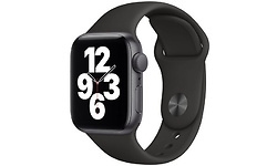 Apple Watch SE 40mm Space Grey Sport Band Black