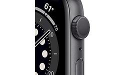 Apple Watch 6 Series 44mm Space Grey Sport Band Black