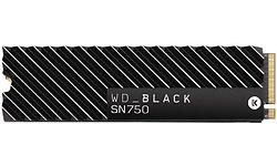 Western Digital WD Black SN750 500GB Heatsink (M.2 2280)