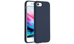 Selencia Accezz Liquid Silicone Case Blue iPhone 8/7