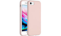 Selencia Accezz Liquid Silicone Backcover iPhone SE (2020) / 8 / 7 Cover Pink