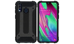 iMoshion Rugged Xtreme Backcover Samsung Galaxy A40 Cover Black