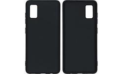 iMoshion Color Backcover Samsung Galaxy A41 Cover Black