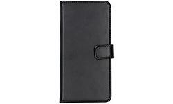 Selencia Echt Lederen Booktype Samsung Galaxy A50 / A30s Cover Black
