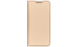 Samsung Dux Ducis Slim Softcase Booktype Samsung Galaxy A50 / A30s Gold Gold / Gold