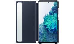 Samsung Galaxy S20 FE Smart Clear View Book Case Blue