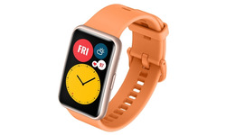 Huawei Watch Fit Activity Tracker Cantaloupe Orange