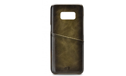 Samsung Desire Leather Cover whiteh Card Slot Samsung Galaxy S8 Burned Olive
