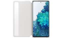 Samsung Galaxy S20 FE Clear View Book Case White